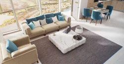Dubaj, 3 szobás, most épülő lakások
